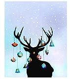 Pintura DIY Pintura Digital Números, De La Pared Moderna Pintura De La Lona para La Decoración Casera,Adornos de navidad colgando 40x50cm Sin marco