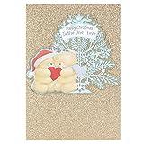 Hallmark Forever Friends-Tarjetas navideñas con dedicatoria para tarjeta de Love Cute