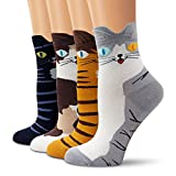 Ambielly calcetines de algodón calcetines térmicos Adulto Unisex Calcetines