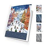 Felicitaciones de Navidad. Pack de 10 postales de navidad world of tradition
