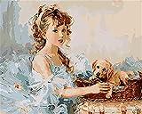 Pintura Por Números Niños Adultos De Color Venecia Grand Canal Ship House 40X50Cm Lienzo De Lino Diy Pintura Al Óleo Regalos De Navidad -With Frame