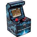 ITAL Mini Recreativa Arcade / Mini Consola portátil de diseño Retro con 250 Juegos / 16 bits / Máquina Perfecta como Regalo Friki para niños y Adultos (Azul)