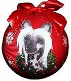 Adorno de Navidad Chino con Forma de Bola a Prueba de roturas, fácil de Personalizar, Amantes de la Cresta China