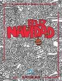 Un libro navideño de colorear para adultos: Feliz Navidad (Diseños creativos, símbolos y tradiciones de la Navidad)