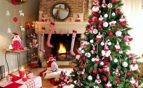 arboles navideños decorados