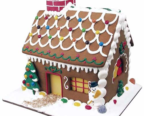 casitas de navidad de galletas