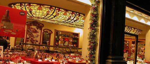 como decorar escaparate navidad