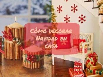 como decorar navidad en casa