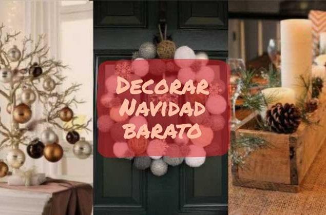decoracion navidad barata