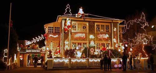decoracion navidad exteriores casas