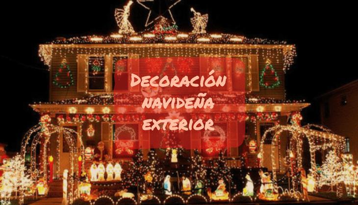 decoracion navideña exterior