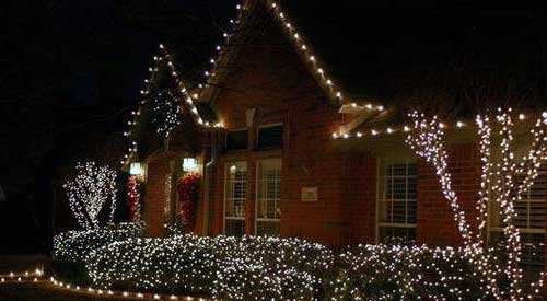 decoracion navideña exteriores casas