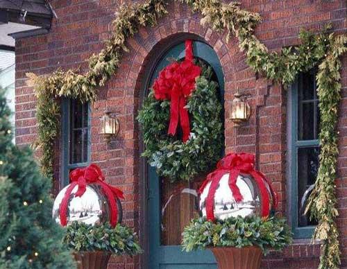 decoracion navideña luces para exterior