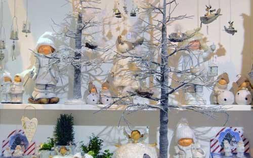 decorar arbol de navidad blanco y dorado