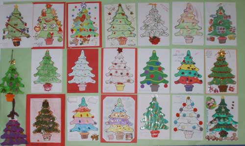 decorar clase navidad infantil