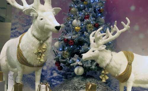 decorar de navidad escaparates