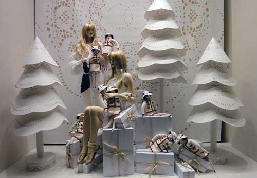 decorar escaparate de navidad