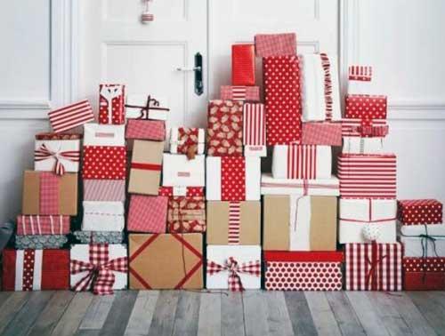 decorar escaparate navidad barato