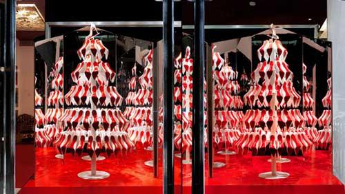 decorar escaparate para navidad