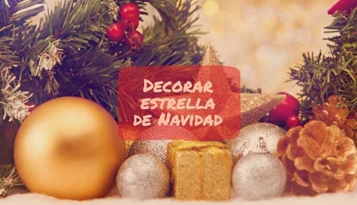 decorar estrella navidad