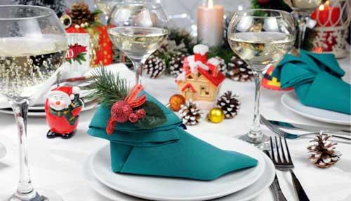 decorar la mesa de navidad ideas
