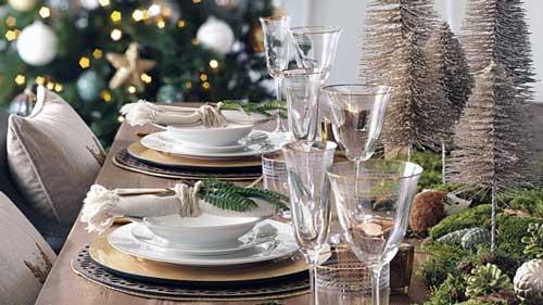 decorar mesa de navidad paso a paso
