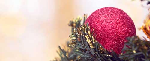 decorar navidad blanca