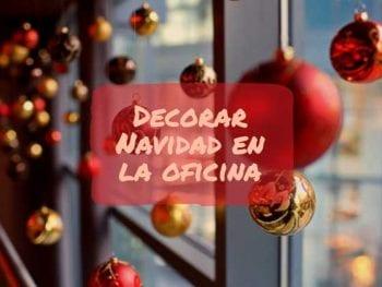 decorar navidad en la oficina