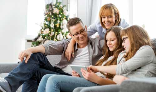 decorar navidad escaparate