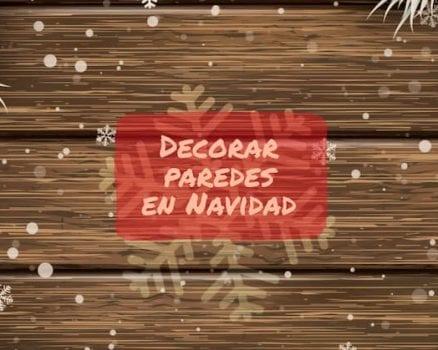 decorar navidad paredes