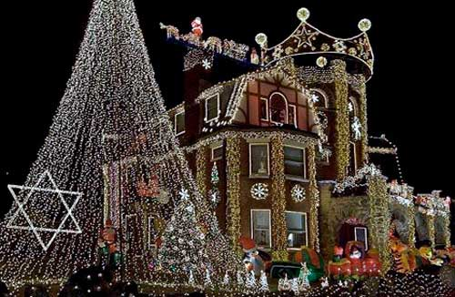fachadas de navidad