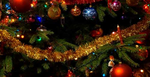 guirnaldas navideñas manualidades