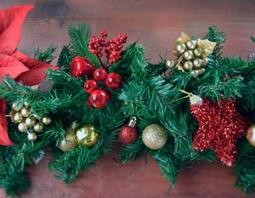 guirnaldas navideñas