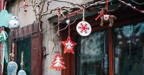 luces navidad exterior sin enchufe