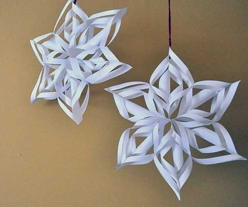 manualidades de navidad con papel