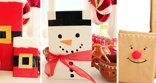 como envolver regalos sin caja