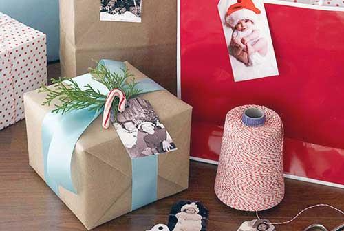 como envolver un regalo sin caja