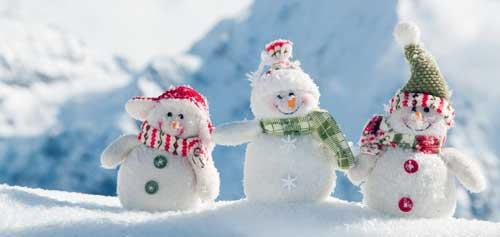 como hacer un muñeco de nieve facil