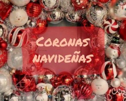 coronas navideñas
