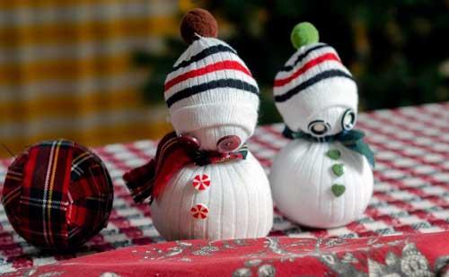 hacer disfraz muñeco de nieve
