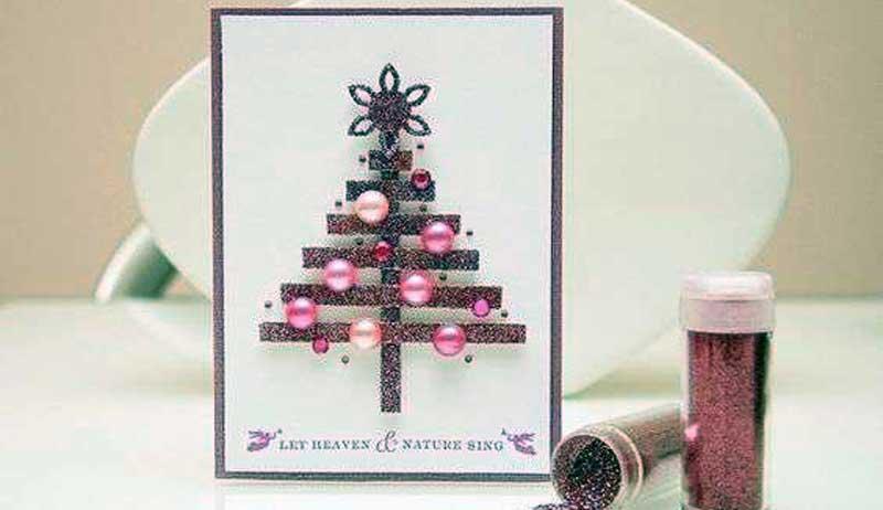 como hacer tarjetas de navidad originales
