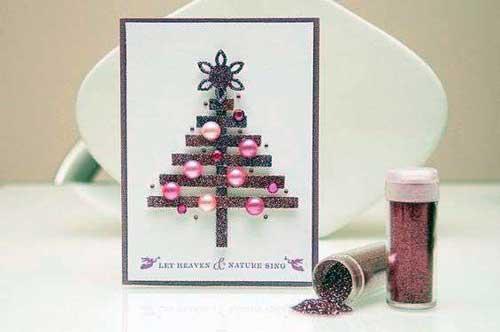 postales de navidad hechas a mano