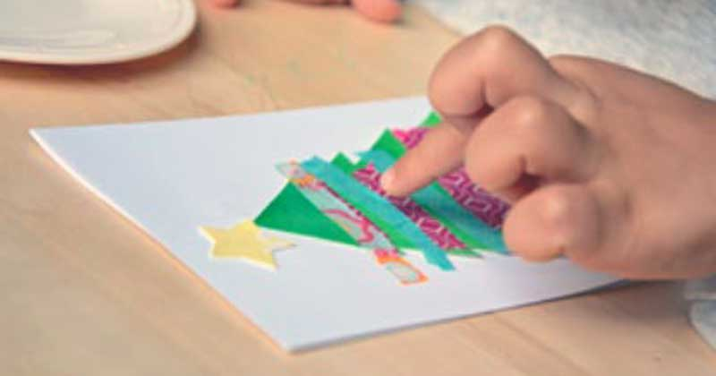 postales de navidad originales manualidades