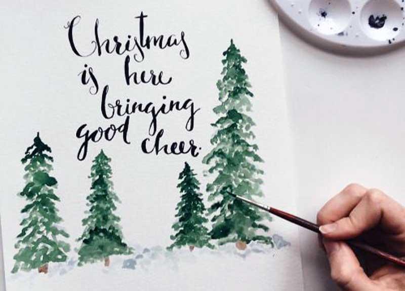 postales originales de navidad