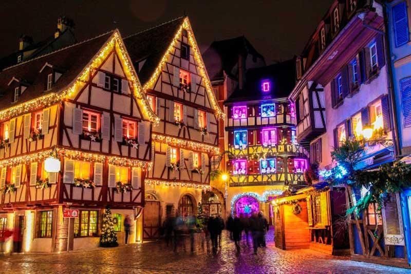colmar francia en navidad