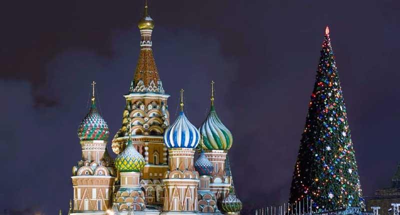 como es la navidad en rusia