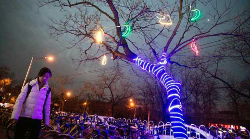 como se celebra la navidad en china