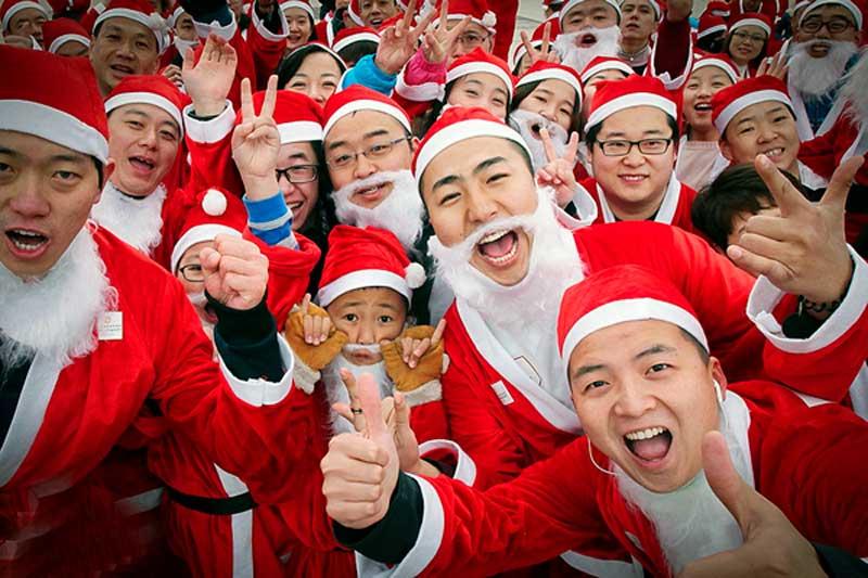 cuando es navidad en china