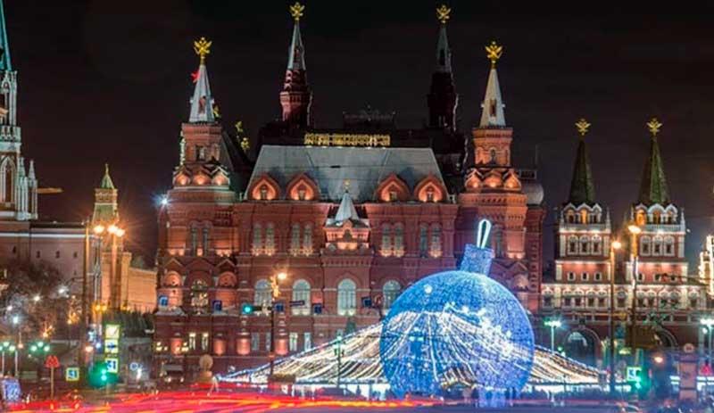 cuando es navidad en rusia