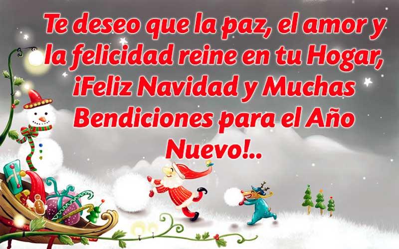 felicitaciones de navidad para amigos y familia